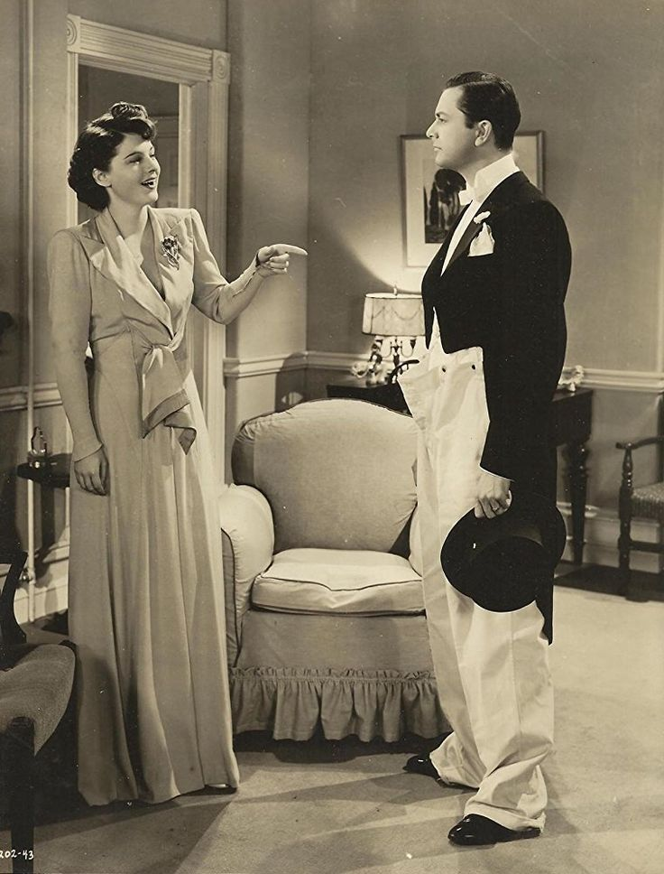 Robert Young and Ruth Hussey in Married Bachelor (1941)