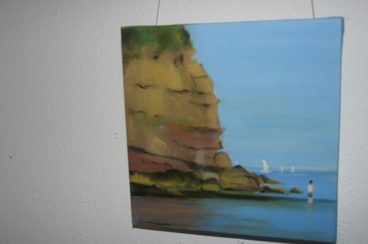 37. Councellors Strand, Oil on canvas, €50 by Deirdre Hayden