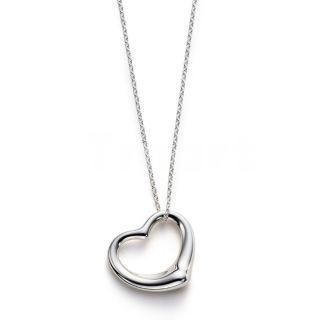 925 Sterling Silver Tiffany Heart Necklace