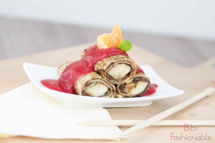 sweet banana sushi