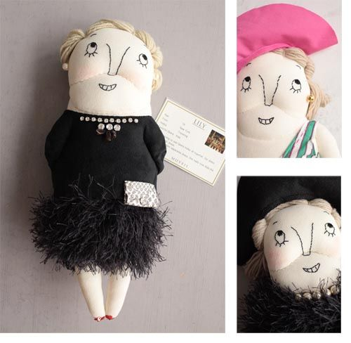 You're never too old to be a MUVEIL doll! http://knuffelsalacarteblog.blogspot.nl/2013/10/youre-never-too-old-to-be-doll.html
