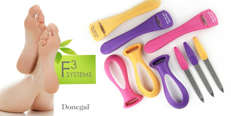 Pedicure Accesories 3F SYSTEMS by Donegal