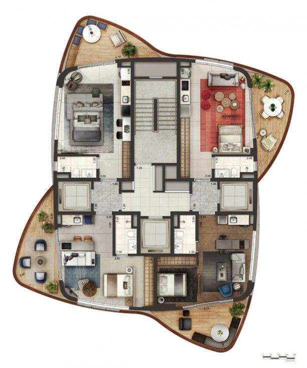 Oltre 25 fantastiche idee su piantine di case su pinterest for Piani di casa del fienile a una sola storia