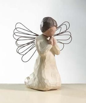 Willow Tree Angels - They All Have A Different Meaning. I Love Collecting Them.