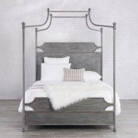 Lansing Iron Canopy Bed with Surround by Wesley Allen