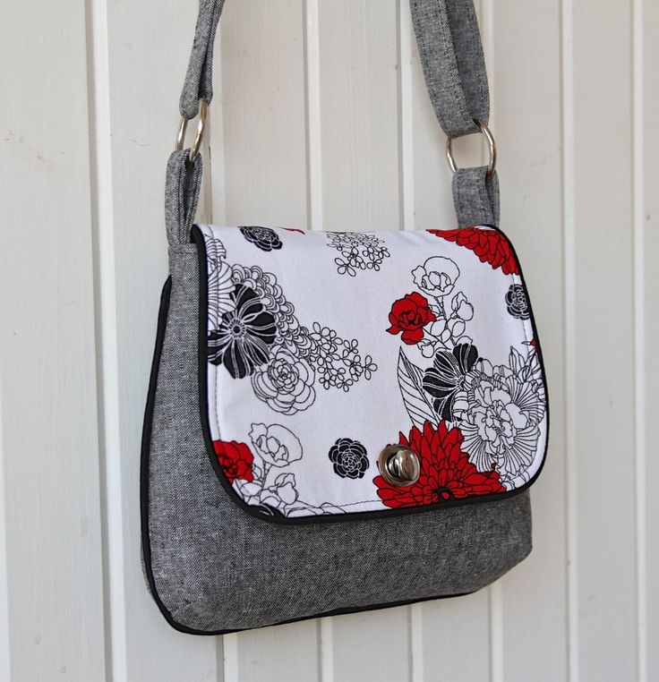 36 best Messenger bag tutorials images on Pinterest | Sew bags ...