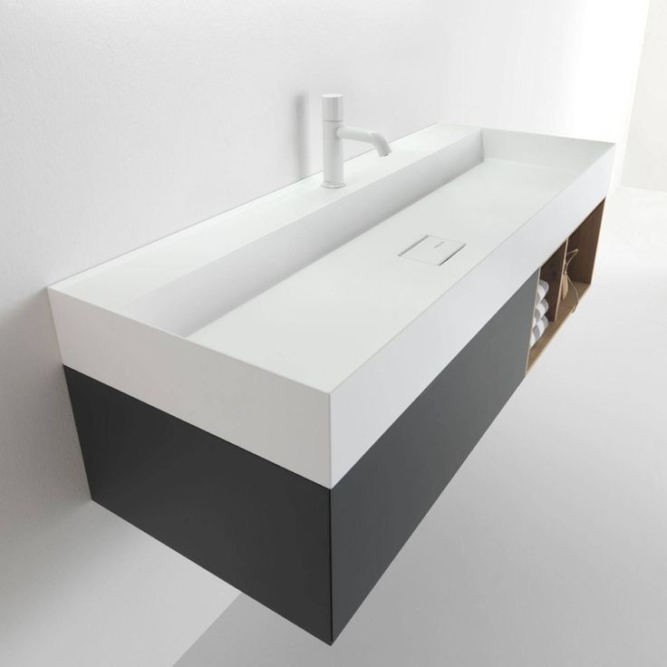 Falper's Quattro Zero range of integrated #cabinets and #basins redefine a visual perception of lightness in the #bathroom. The unique material #Ceramilux has the ability to achieve a 4mm thin profile, top with drip edging and 45 degree finish while #timber shelves and seamless push-open drawers provide ample #storage.  The range has been extended to include two sizes: 1200mm and 800mm. View the full range here: http://www.rogerseller.com.au/bathroom/furniture/quattro-zero/
