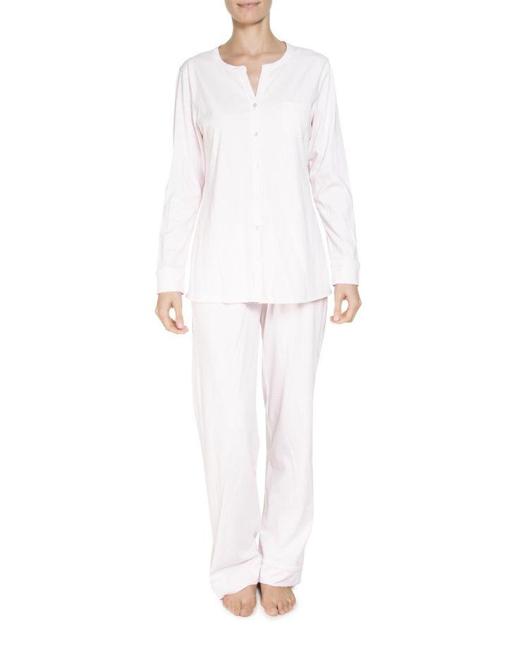 Mandarin Collar Cotton Pyjamas