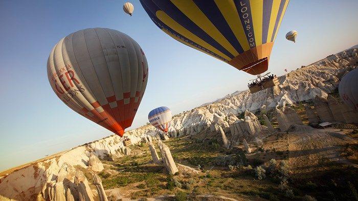 An amazing experience: Hot air balooning in Cappadocia, Turkey #kilroy