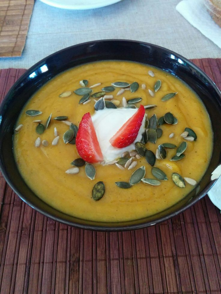 Special Carrot soup *