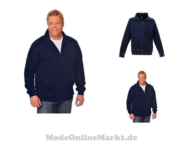 4049457518344 | #Trigema #Herren #TRIGEMA #Raglan-Jacke #Sweat-Qualität #blau