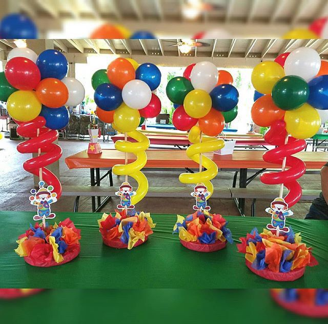 Best 25 carnival centerpieces ideas on pinterest circus for Animals decoration games
