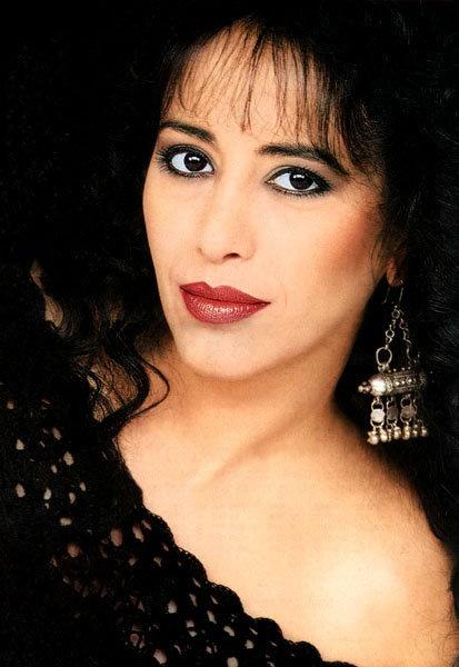 Ofra Haza- Israeli Singer.