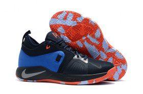 5d760601a23 Comfortable Nike Paul George PG2 Playstation Dark Obsidian Kinetic Green  Navy AJ2039 400 Men s Basketball Shoes Male Sneakers