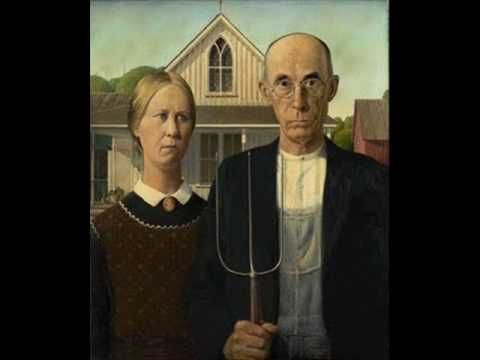 """A five-minute show on the American painter Grant Wood's """"American Gothic"""" at the Art Institute of Chicago. (4:30)"""