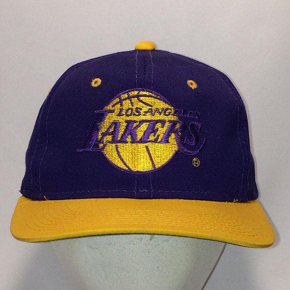 Vintage Los Angeles Lakers Snapback Hats Purple Gold Nba Basketball Dad Hat T13 Jl8054 Snapback Hats Los Angeles Lakers Lakers Hat