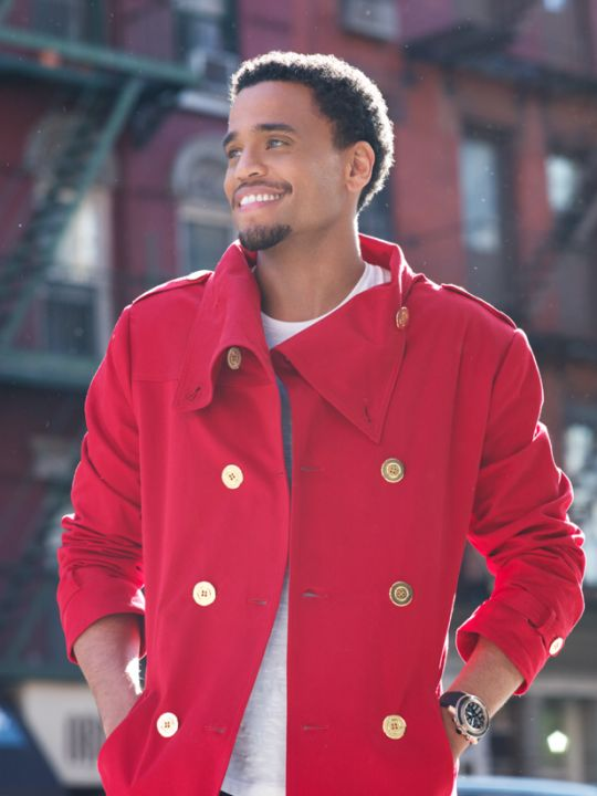 Michael Ealy. Such a gorgeous man.  Shall our futures intertwine in ANY way.