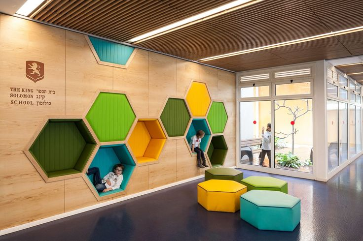 King Solomon School - Picture gallery #architecture #interiordesign  #children |  | Pinterest | King solomon, School pictures and Solomon