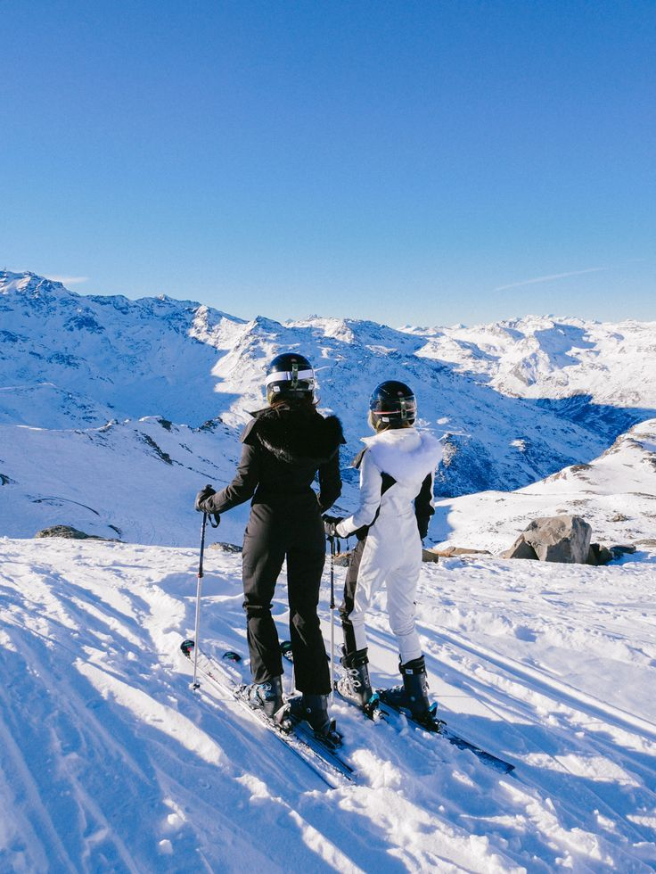 First Day Skiing, Val Thorens