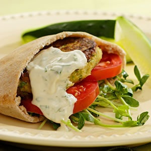 World's Easiest Falafel and Tzatziki | Recipe