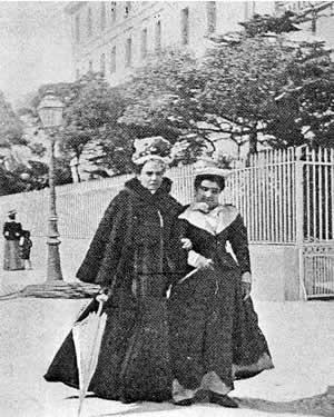 Matilde Serao e Eleonora Duse in vacanza