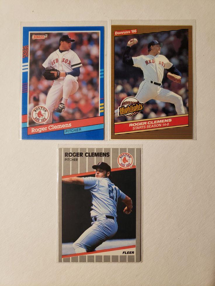 1986 Donruss Highlights, 1991 Donruss, and 1989 Fleer. All