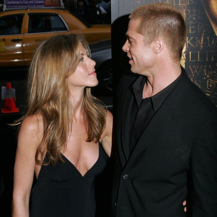 Brad Pitt and Jennifer Aniston Give Love a Second Chance  - In Touch Weekly