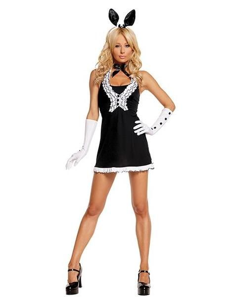 bd63bc2c8 Black Tie Bunny Costume