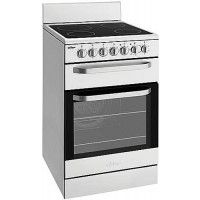 Chef - 54cm Electric Freestanding Oven, Ceramic Hob, Stainless Steel