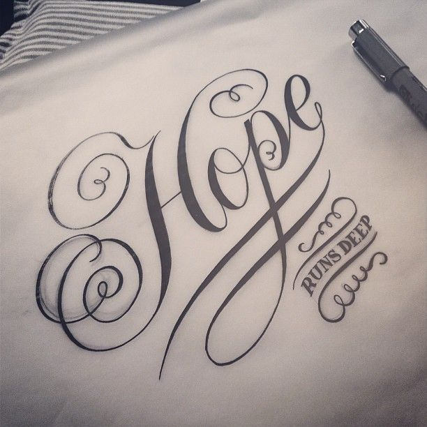 ✍ Sensual Calligraphy Scripts ✍  initials, typography styles and calligraphic art -