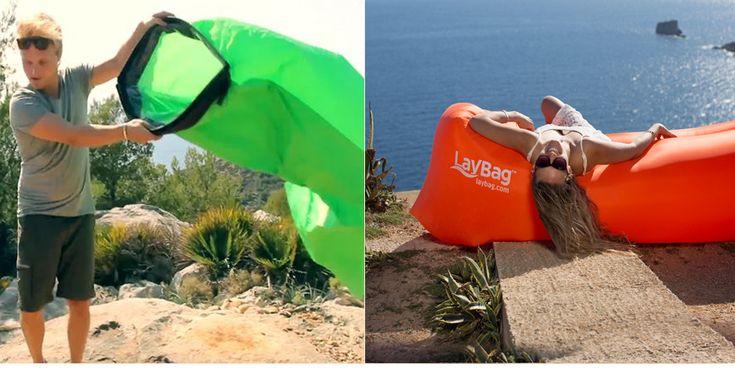 Babioles : Passez un été confortable avec ce hamac gonflable