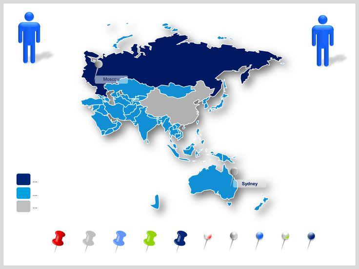 Asia Pacífico mapas ppt