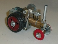 The Traction engine model with which I won the SELMEC Geoff Carter cup