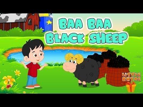 Baa Baa Black Sheep Have You Any Wool? | Kids Nursery Rhyme | BY Little ...