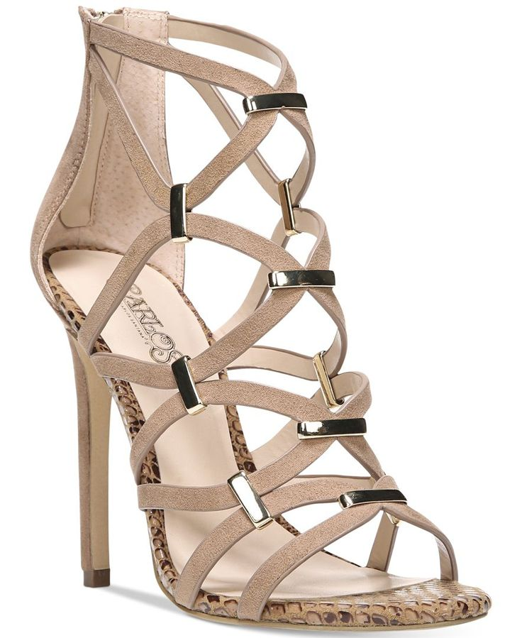 Carlos By Carlos Santana Paulina Cage Dress Sandals