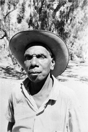 "Mr. Lingiari: In Kalkaringi, and around Australia, he is remembered as a great man who demanded wages, then land, and after a long fight won a battle for and with his people. The leader of the Gurindji during the Wave Hill Station ""walk off"" of stockmen and their families, a trailblazer for indigenous Australians. 1966. (First name, Vincent, not used above in attempt to respect Aboriginal naming customs for the deceased)."