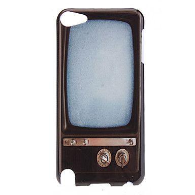Retro+Télévision+Style+Pattern+Housse+de+protection+rigide+pour+5+iPod+Touch+–+EUR+€+2.87