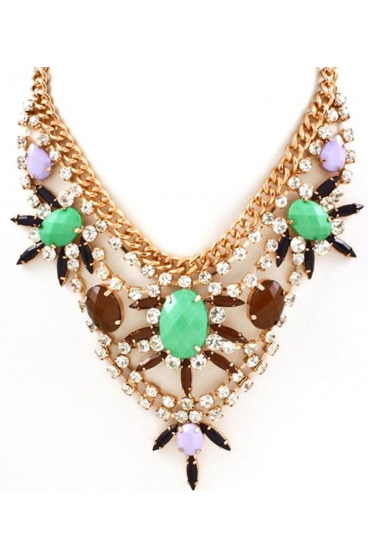 """Emerald Fantasy"" Necklace-  Limited Item In Stock! Available at 50% Discount. Shop Now!"