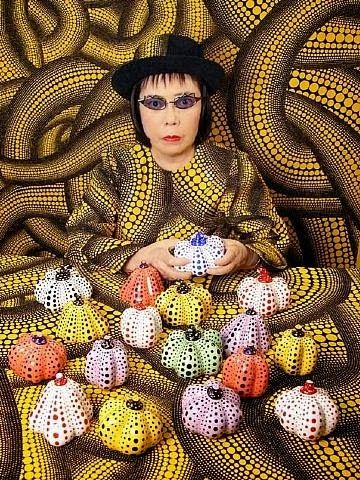 Plastic: artist Yayoi Kusama