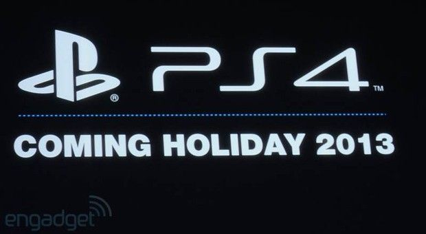 Sony unveils its next game console, the PlayStation 4, arriving in holiday 2013
