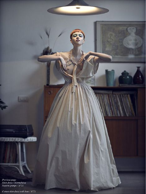 """ ""Rosewood"" by Fulvio Maiani for Schon! "" sometimes i do like fashion"