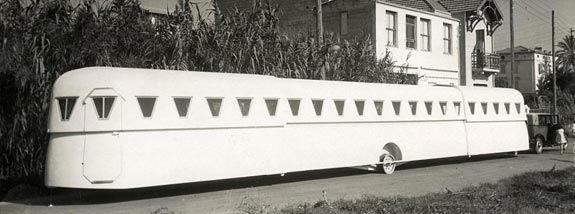Caravana extensible (Francia, 1934)