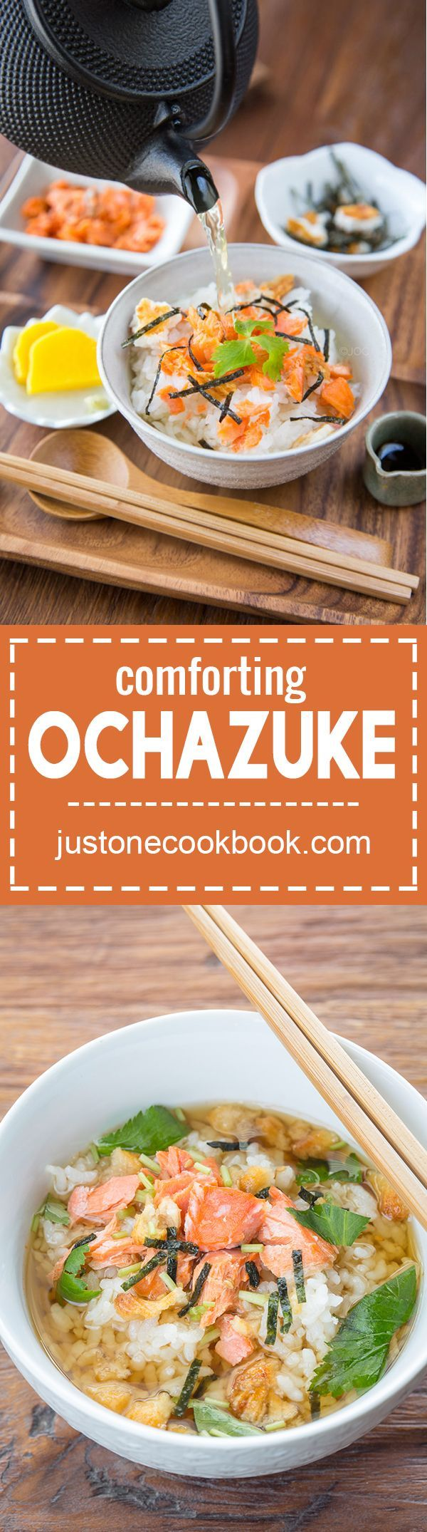 Ochazuke (お茶漬け) | Easy Japanese Recipes at http://JustOneCookbook.com