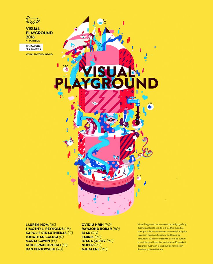 Visual Playground 2016 on Behance