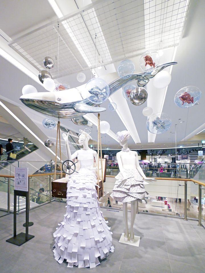 Hyundai Department Store In-Store Installations & Window Display by Prop Studios, Seongnam – South Korea » Retail Design Blog #visualmerchandising