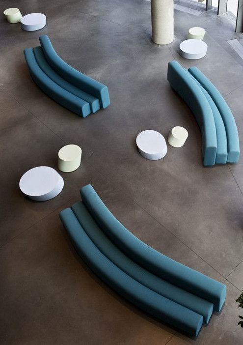 Sectional leisure #sofa OSAKA by La Cividina | #design Pierre Paulin @lacividina