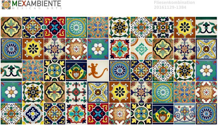 57 best images about mexikanische fliesen on pinterest shops donuts and germany europe - Mexikanische fliesen ...