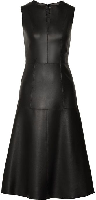 The Row Filpen paneled leather dress on shopstyle.com