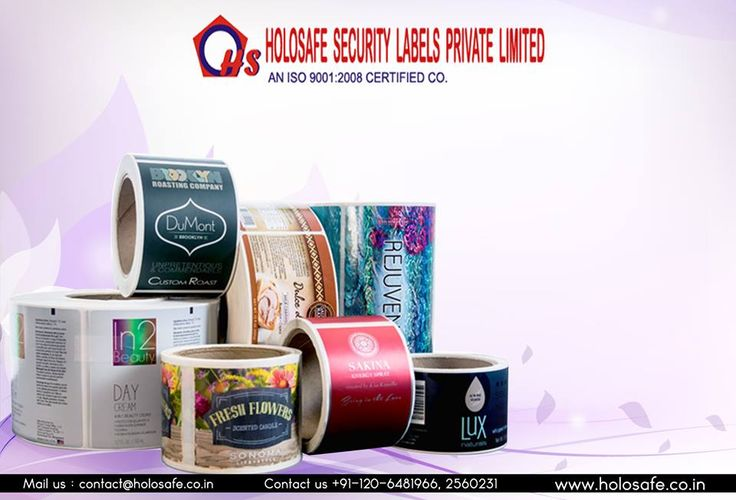 Adhesive labels is this visual impact that extends the initial greeting to the consumer and forces him to look specifically for your product  https://www.facebook.com/Holosafe