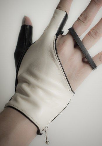 MILA | Revolver Gloves  Mila is based in Los Angeles, United States. She studied at RISD. Her collections are produced in United States.